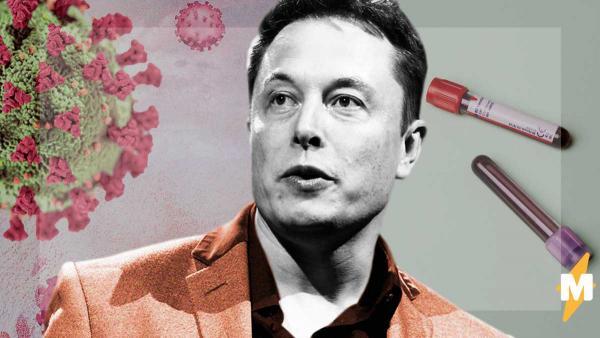 Илон Маск заболел и сдал тесты на COVID-19, а людям страшно. Спорные результаты раскрыли им теорию заговора
