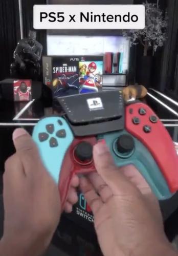 Блогер поиграл на гибриде PS5 и Switch. Его странный геймпад удивил даже Nintendo, а россияне сразу всё поняли