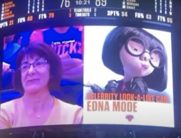 На матче НБА женщине показали, на какую знаменитость она похожа. Но такое сходство убивает изнутри