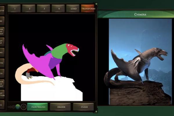 Chimera Painter от Google превращает ваши наброски в фантастических тварей. Но от мечты до кошмара один шаг