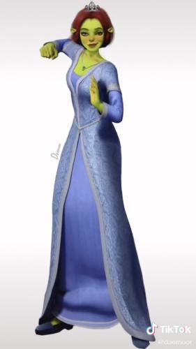 """Как бы выглядела Фиона из """"Шрека"""", будь она худой красоткой. Теперь люди знают - и им страшно на это смотреть"""