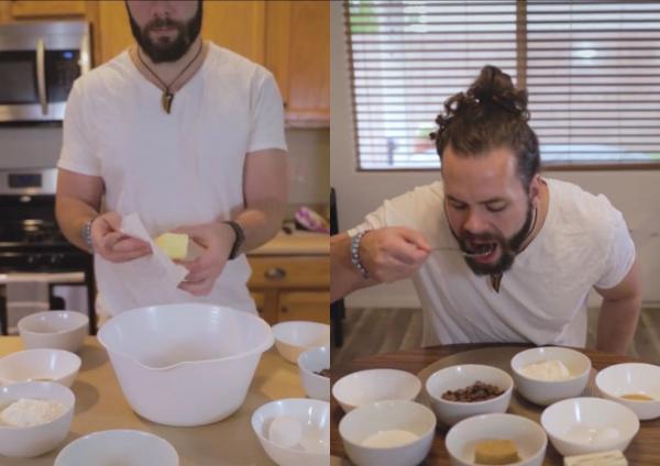 Парень приготовил печенье наоборот (да, как в «Доводе»). Шутки про Нолана летели быстрее инвертированных пуль