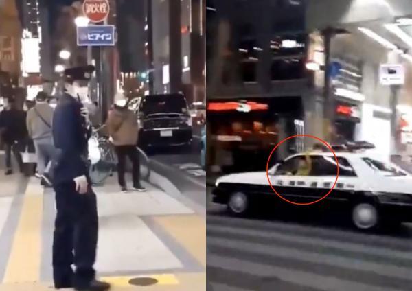 Японец угнал полицейскую машину и помахал рукой. Люди боятся, что его ждёт тюрьма, но глазам верить не стоило