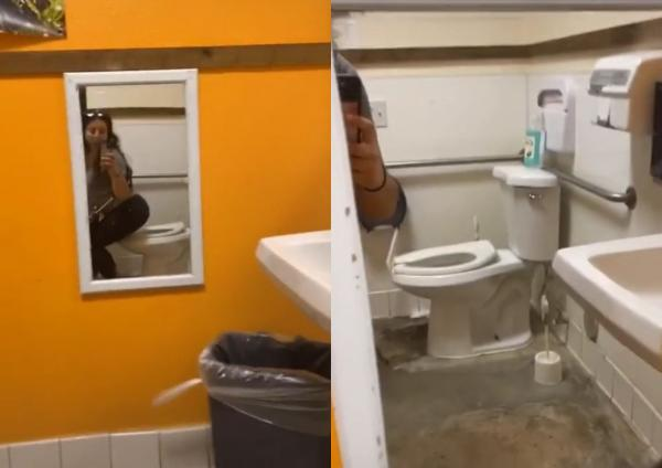 Девушка нашла в туалете зеркало с секретом, и стесняшки вышли из чата. Люди забили тревогу, но они зря боялись