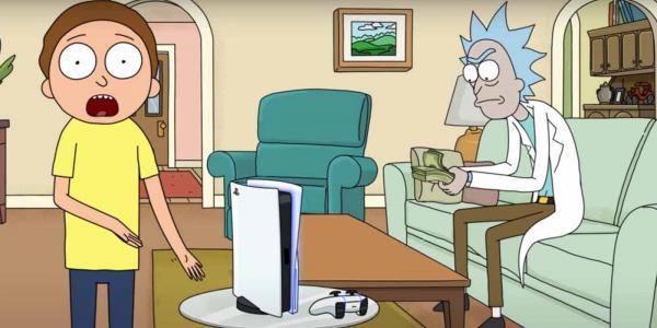 Рик и Морти вернулись, но это не новая серия. Персонажи рассказали про плюсы PS5 и привели фанатов в бешенство
