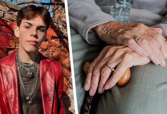 Бабуля на видео с внуком притворилась мёртвой и напугала людей. Но вернулась к жизни так, что они влюбились