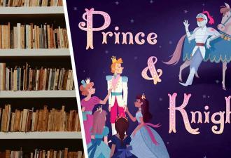 Женщина увидела детскую книжку «Принц и рыцарь» и возмутилась. Но многие люди мечтают о таких сказках в России
