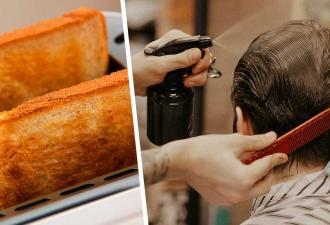 Как проверить, эффективно ли средство для защиты волос. Стилисту понадобился один тост, и результат поражает