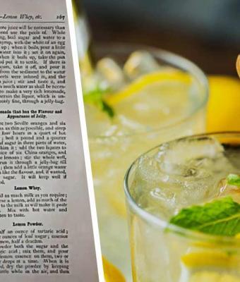 Девушка сделала лимонад по рецепту 1872 года, но пить его нельзя. Один компонент сделал вкус невыносимым