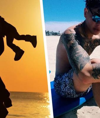 Блогер 3 месяца прятал от мамы тату, а потом сразу показал их все. Худшая кара постигла его на следующий день