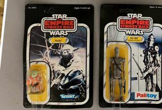 Старик завещал соседям игрушки Star Wars, и те думали, что это хлам. Зря — стоимость удивила даже экспертов