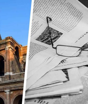Парень нашёл газету времён Второй мировой и удивился. Пока страны воевали, у итальянцев была своя атмосфера