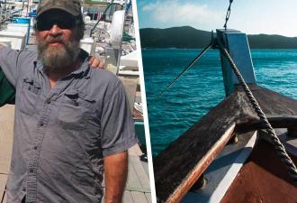 Моряк застрял в море на куске лодки. Одно движение — смерть, но, доплыв до места, спасатели не поверили глазам