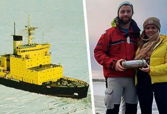 Сёрферы обнаружили капсулу времени с российского ледокола. Самое пугающее предсказание экипажа уже сбылось