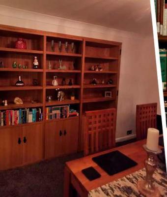 Хозяйка показала, какой секрет скрывает её книжный шкаф. Заглянуть за него хотел бы любой: это круче Нарнии