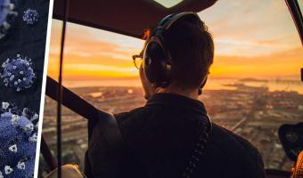 Пилот показал свои фото до и во время пандемии. Парень видит в них боль, а люди — настоящий повод для гордости