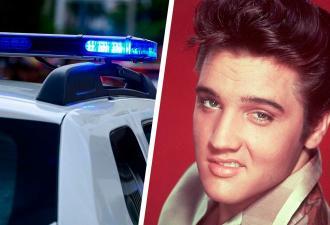 Мужчина закосплеил Элвиса Пресли, и вышло преступно хорошо. Настолько, что концерт пришлось прервать копам