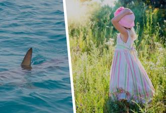 Одиннадцатилетка взяла акулу голыми руками и спасла её. Там, откуда малышка родом, дети способны и не на такое