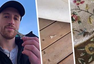 Блогер живёт в опасном районе, но прячет ключ под коврик у дома. И воров, нашедших его, ждёт сюрприз