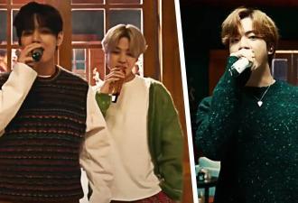 Концовка выступления BTS шоу Джеймса Кордена озадачила фанов. В кадрах с Чонгуком они видят скрытые знаки