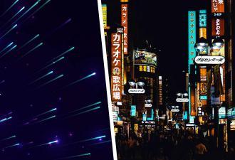 В небе над Японией появился огненный шар, и он ослепителен. Но люди видят НЛО и связь с загадочным монолитом