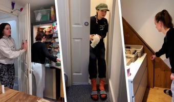 Студентки показали на видео самый неудобный дом в мире. И расстроили россиян – им о таком только мечтать