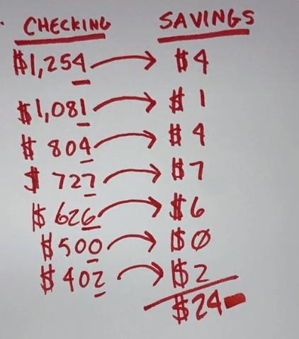 Как накопить сотни тысяч, откладывая деньги, и даже этого не заметить. Мужчина показал на простой математике
