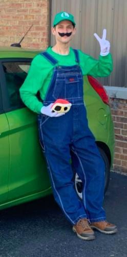 Парень превратился из Марио в Луиджи, и это не фигура речи. Его стало гораздо меньше - на 100 килограммов