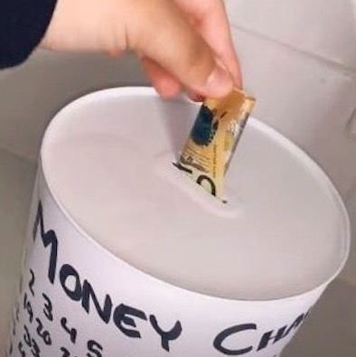 Хозяйка нашла самый простой способ копить деньги. Как? Легко: помог лайфхак немецкого математика из XVIII века
