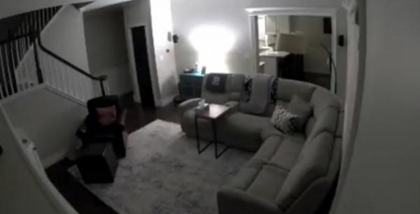 Женщина проверила камеры видеонаблюдения в своём доме