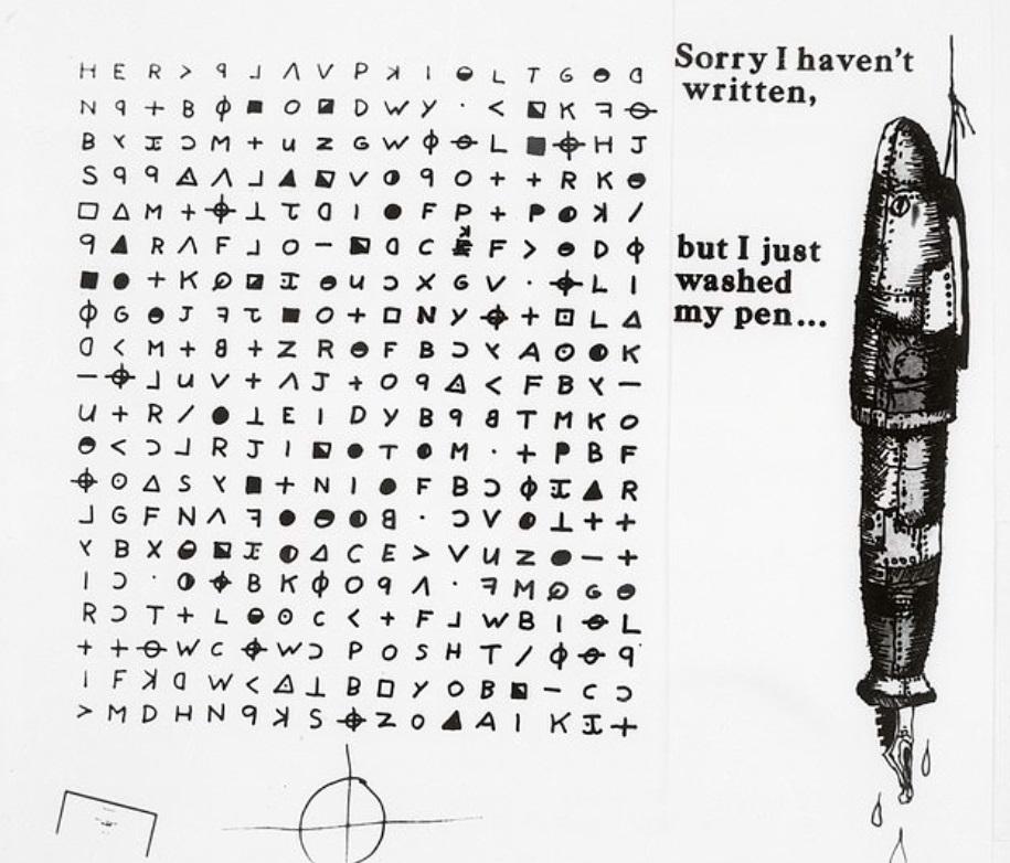 Парень спустя 50 лет расшифровал письмо маньяка. Содержимое записки удивило абсолютно всех, особенно, копов