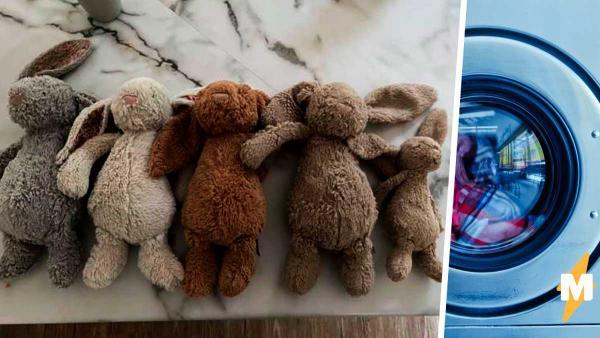 Мама постирала детские игрушки и, привет, новая фобия. После увиденного никогда не захочется спать с плюшевыми