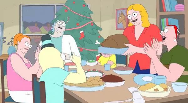 """""""Рик и Морти"""" вернулись - не в пятом сезоне, а в праздничном скетче. Но понять его не смогут и преданные фаны"""