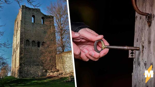 Владельцы замка гадали, куда пропал ключ. Самое интересное началось, когда он вернулся через 50 лет с запиской