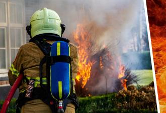 Пожарный всегда на службе, работает без выходных и не устаёт. Выучить его трюк невозможно — такими рождаются