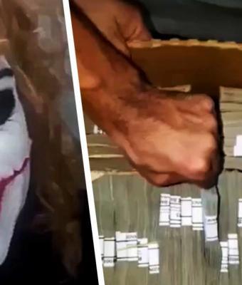 Банда в Бразилии ограбила банк и показала видео с мешками денег. Но люди ликуют: воры поделились добычей