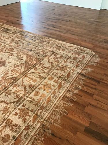 Женщина создала вечный ковёр, который не нужно пылесосить. Идеальный вариант, только версия 2D