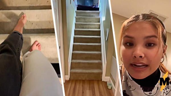 Девушка показала особенности своего дома, и люди поняли: здесь жила мафия. Ведь они увидели секретную комнату