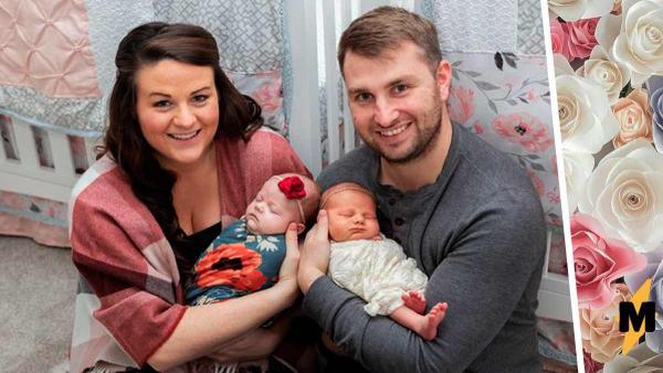 Дети выглядят как близнецы, но родились от двух мам в разное время. Похожи они не только внешне, но и в ДНК
