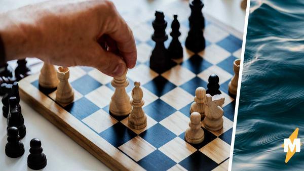 """Шахматисты нырнули в прорубь и сыграли партию. Это могло быть лучшее промо ко второму сезону """"Хода королевы"""""""
