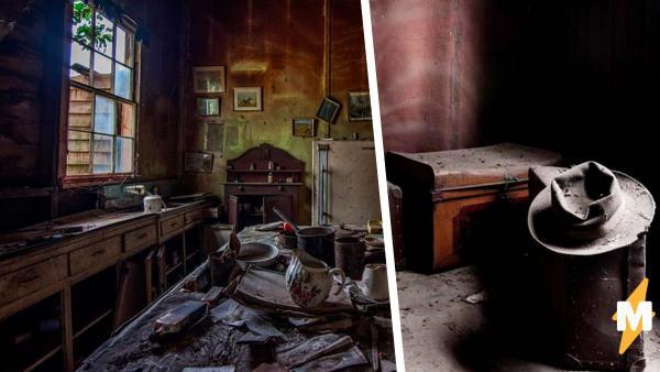 Компания зашла в заброшенный дом, но успела сделать лишь пару фото. Стоило осознать: что-то заставило хозяев покинуть его