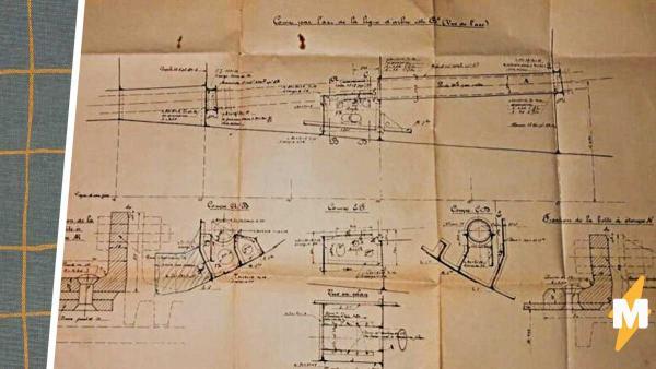 Мужчина нашёл в шкафу чертежи кораблей Второй мировой. Стало не по себе, когда он понял, кто за ними охотился