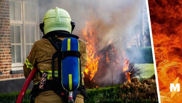 Пожарный всегда на службе и дежурит без выходных. Повторить его секрет невозможно, таким можно только родиться