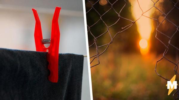 Гений повторил кино-трюк с верёвкой из одежды и окном. Здание он покинул, но теперь полиция ждёт его обратно