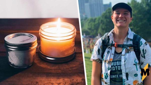 Девушка зажгла свечу, и её дом стал почти местом преступления. Это урок на будущее всем любителям свечек