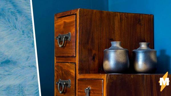 Дизайнерша создала мягкий шкаф, и люди открыли его не сразу. Зато когда сделали это, возненавидели его