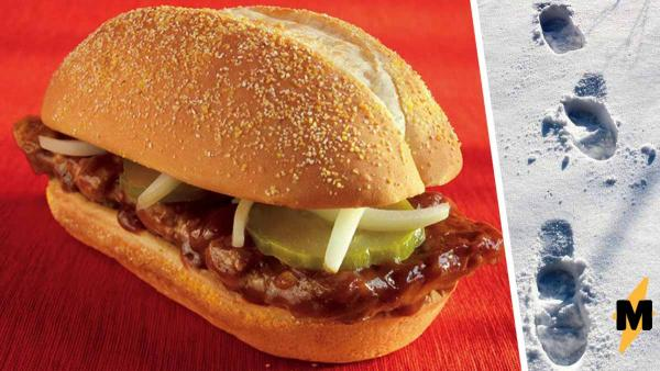 Девушка показала котлету из «Макдоналдса» до приготовления. Аппетит испорчен, но россиянам тошнота не грозит