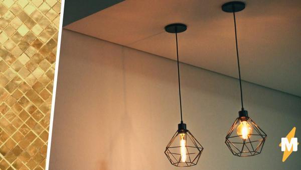 Девушка сняла подвесной потолок в доме XIX века и обнаружила чудо дизайна. Но люди решили: находка опасна