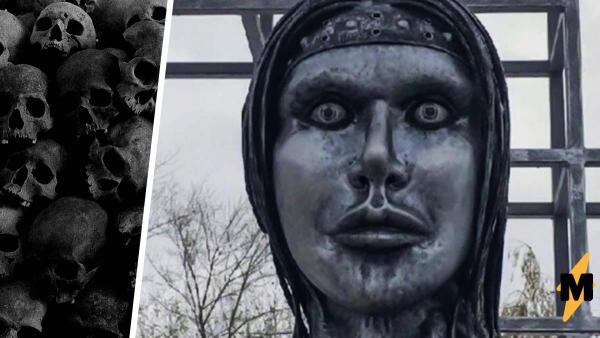 Памятник Алёнке в Нововоронеже стал мемом про ад. Россиянам страшно, но бояться осталось недолго