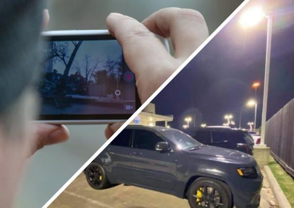 Владелец авто вышел на парковку и не поверил себе: его машина летала. Левитация ни при чём, но глаза подводят